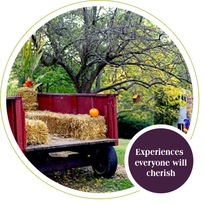 Create experiences to cherish at the CountryView Home in Galena, IL.