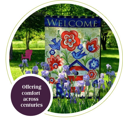 CountryView Home in Galena, IL offers comfort across centuries.