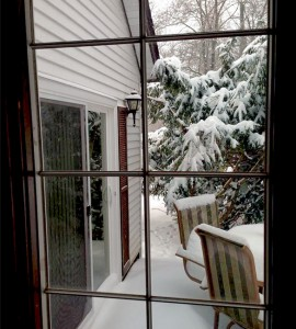 Winter at the CountryView Home in Galena, IL